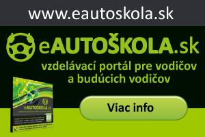 eautoškola - vzdelávací portál pre vodičov a budúcich vodičov